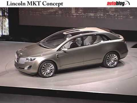 Lincoln MKT unveiled at Detroit Auto Show