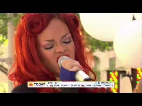 Rihanna - Only girl in the world live at Today Show HD - Rihanna directo Rihanna Today Show