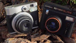Lomo Instant Automat Glass VS Fujifilm Instax Mini 90