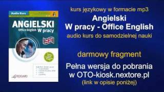 Angielski W pracy - Office English - audio kurs mp3