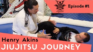 Jiujitsu Journey Episode #1  Henry Akins