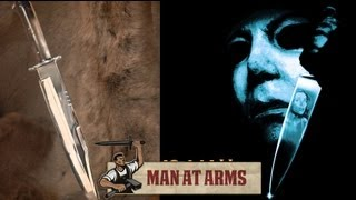 Michael Myers Bowie Knife (Halloween) - MAN AT ARMS
