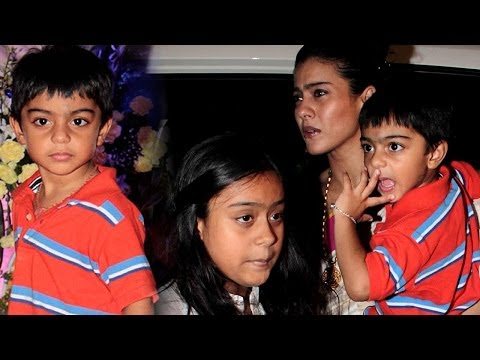 Meet Kajol And Ajay Devgn's Children!