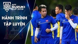 Buổi tập thứ 2 tại Philippines: Đội tuyển Việt Nam sẵn sàng chống bóng bổng | VFF Channel