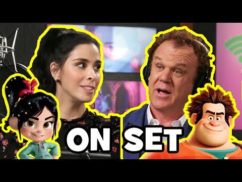 Behind The Scenes On WRECK-IT RALPH 2 - Ralph Breaks The Internet Movie B-Roll & Bloopers
