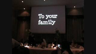 Wedding - Funny Grooms Speech / Song