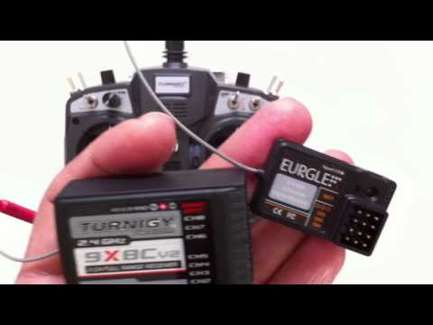 Turnigy 9X V2 RC Transmitter Binding with Eurgle 3Ch Micro Receiver. Radio Control Hobby King