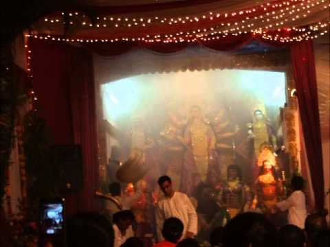 Durga Puja At Trimurty Society Quatre Bornes video