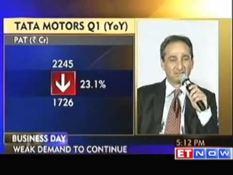 Tata Motors Q1 Net Down 24% At Rs 1,762.81 Crore