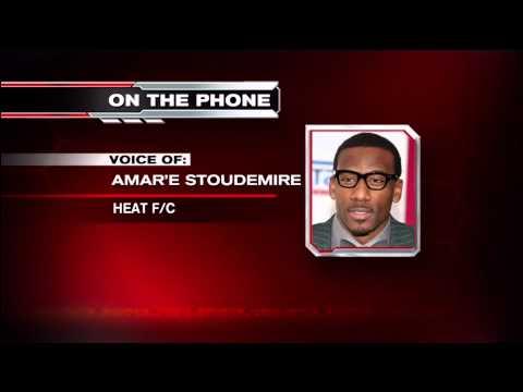 July 14, 2015 - WSVN - Miami Heat Amar'e Stoudemire had Conference Call with Miami Media
