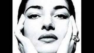 "Maria Callas ""Mon coeur s'ouvre a ta voix """