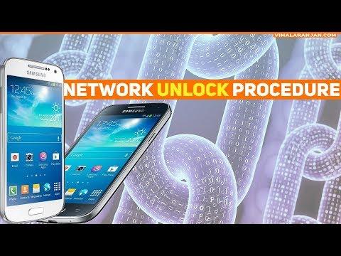 Samsung Galaxy S4 Mini  Network Unlock Procedure