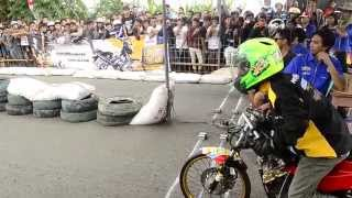 DRAG BIKE eko kodok Satria FU 150 cc Drag racing