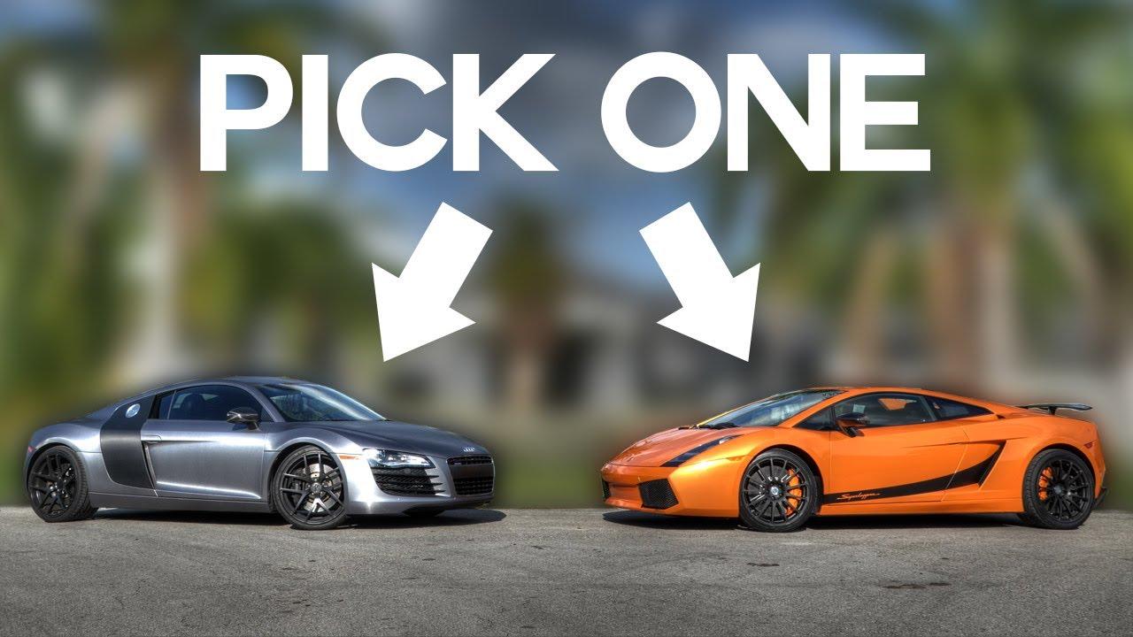 Pov Drive Audi R8 Or Lamborghini Gallardo Superleggera