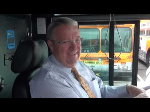 Supervisor Knabe Learns to Drive a METRO Bus