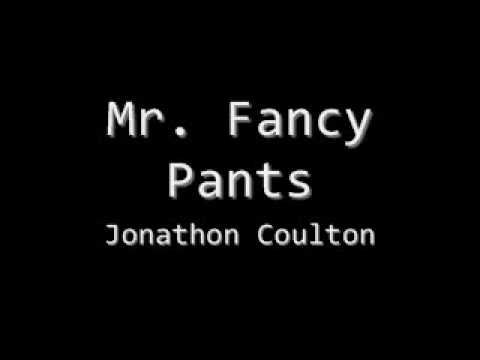 Jonathan Coulton - Mr Fancy Pants