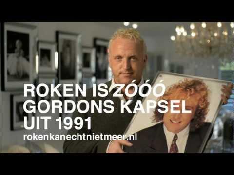 Roken is  Zooo Gordons kapsel uit 1991 (KWF)