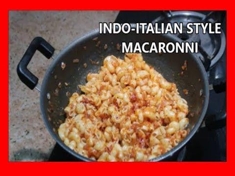 INDO - ITALIAN RECIPE - MACRONNI - INDIANMOMLIFESTYLETAMIL