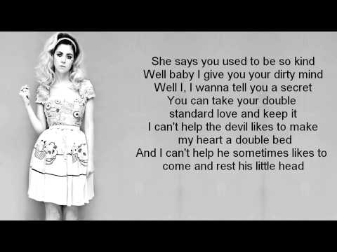 Marina & The Diamonds - Hermit The Frog LYRIC VIDEO
