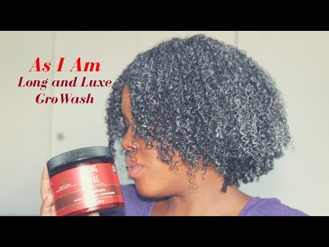 As I Am Long And Luxe GroWash   Demo & Review