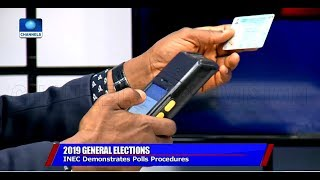'You Can Use Any Of Your Fingers', INEC Official Demonstrates How To Vote Pt.2 |Sunday Politics|