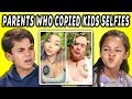 download mp3 dan video 10 PHOTOS OF PARENTS WHO COPIED THEIR KIDS SELFIES w/Kids (React)