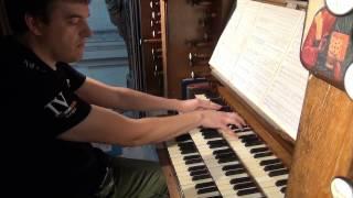 Franz Liszt Fantasie und Fuge Ad nos, ad salutarem undam Christian Ott Orgue St Louis de Versailles