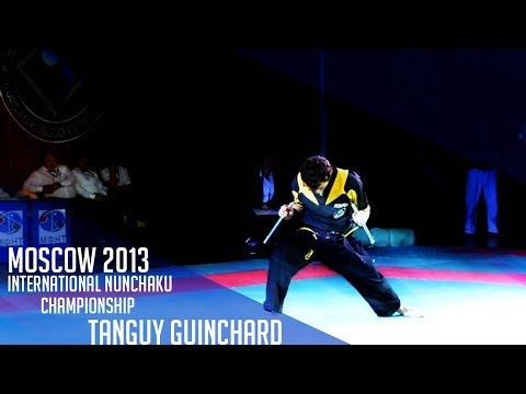 Int. Nunchaku Tournament Moscow 2013 - Tanguy Guinchard - 1st Place video