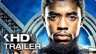 Black Panther ALL Trailer & Clips (2018)