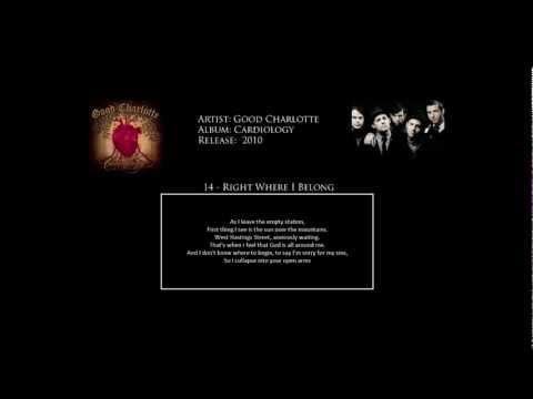 Good Charlotte - Cardiology FULL ALBUM (HD, Lyrics & Official Videos)