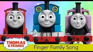 Finger Family Thomas and Friends, Peppa Pig, Ben and Holly, Fireman Sam, Milkshake, Nursery Rhymes