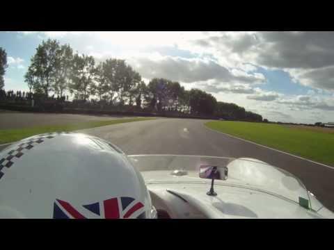 Racing the Porsche 550 Spyder at Goodwood