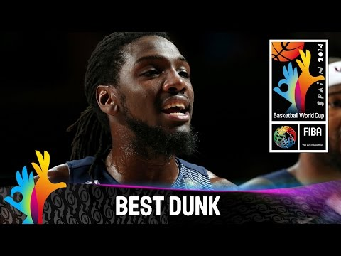 USA v Serbia - Best Dunk - 2014 FIBA Basketball World Cup