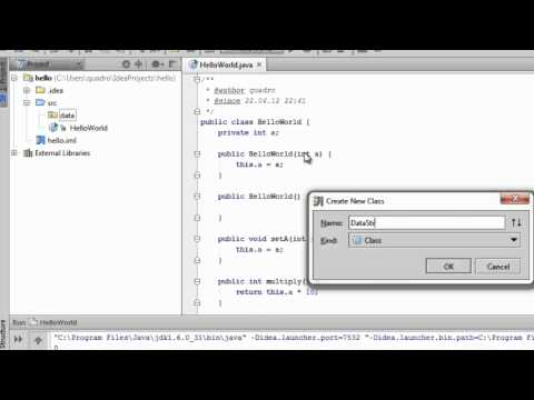how to make a default constructor in java