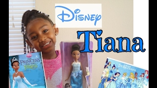 NEW!!!!!! DISNEY PRINCESS TIANA IN BLUE BALL GOWN (Unboxing and Review)