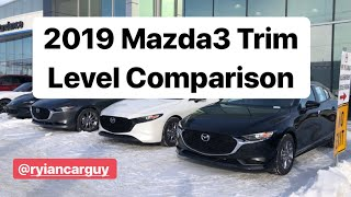 2019 Mazda3 | Trim Level Comparison