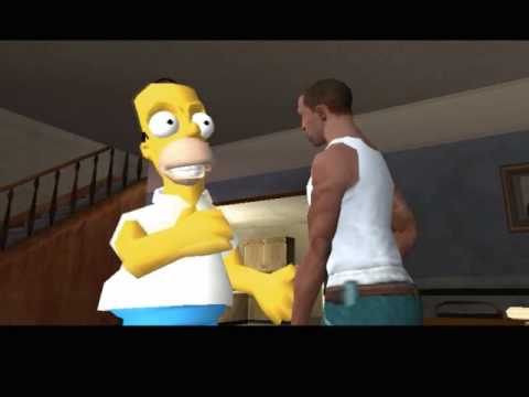 Homer Simpson  GTA San Andreas Mod