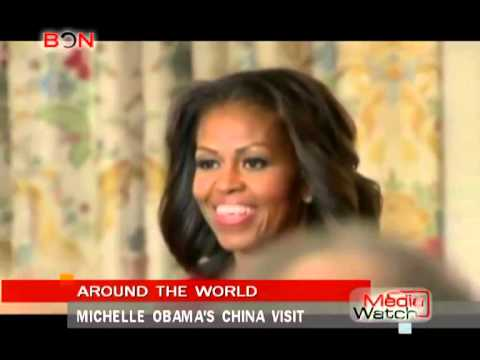 Michelle Obama's China visit- Media Watch - Mar.5th.,2014 - BONTV China