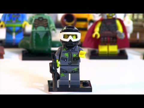LEGO Minifigures Series 10 Review (Sans Mr. Gold)