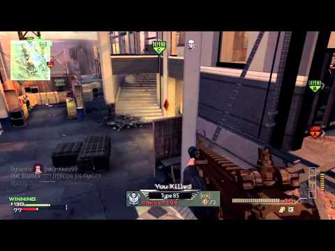 Modern Warfare 3 DLC Mw3 DLC Map Pack #2 Domination on Overwatch w/ Gold Scar-L Gameplay/Commentary