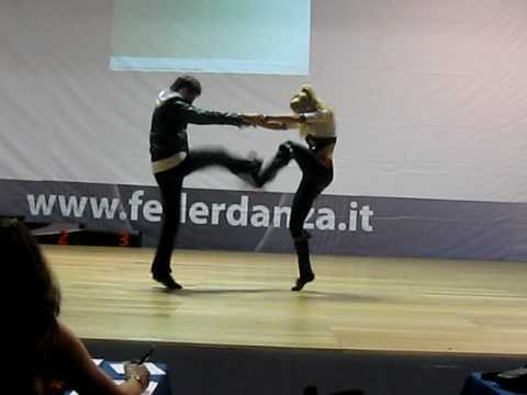 Nicolas Kuran-Pelegatta & Melanie Weber - World Cup Rimini 2010