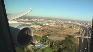 Gorgeous Business Class HD 787 Dreamliner Landing in Johannesburg on Qatar Airways!!!