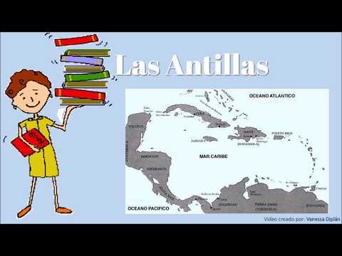 Las Antillas Mayores y Las Antillas Menores