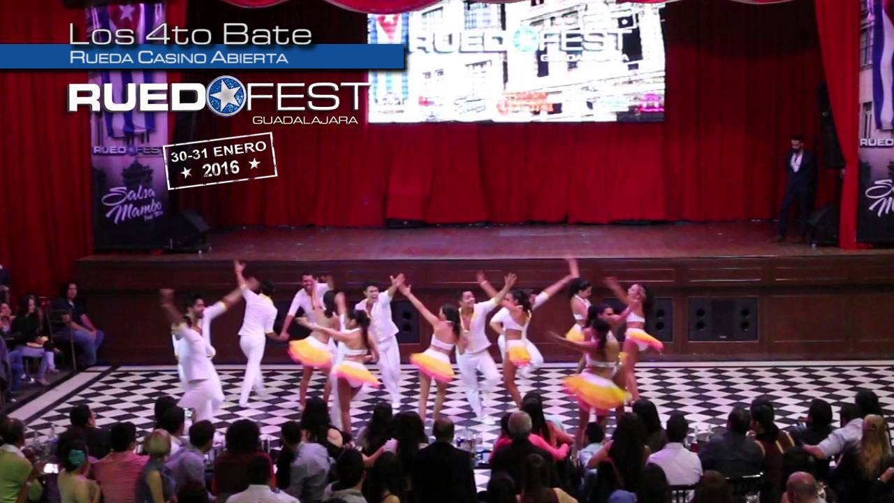 Los 4to Bate   Rueda Casino Abierta   Ruedafest 2015   Guadalajara