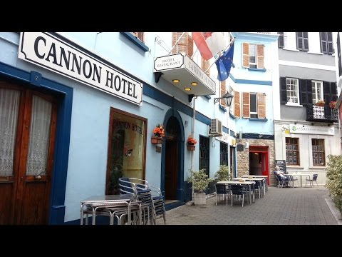 Cannon Hotel Review Gibraltar Tourism Travel Video Guide