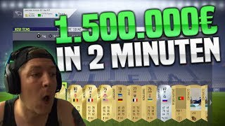 EA macht 1500000€ in 2 MINUTEN?😱 MontanaBlack Fifa 18 Stream Highlights