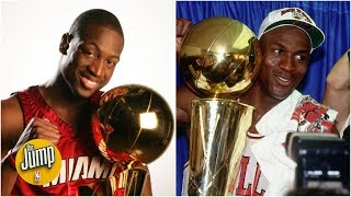 Where does Dwyane Wade rank among the greatest SGs ever? | The Jump