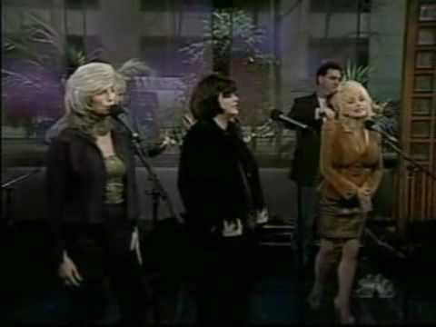 Emmylou Harris, Linda Ronstadt, and Dolly Parton (TRIO) with Carl Jackson, Byron House, Sam Bush