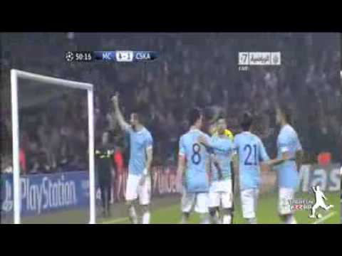 Manchester City vs CSKA Moscow 5-2 All Goals & Highlights UEFA Champions League 05-11-2013