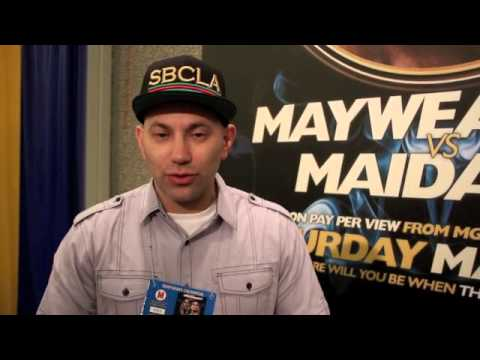 ELIE SECKBACH TALKS AMIR KHAN v LUIS COLLAZO AHEAD OF 'THE MOMENT'